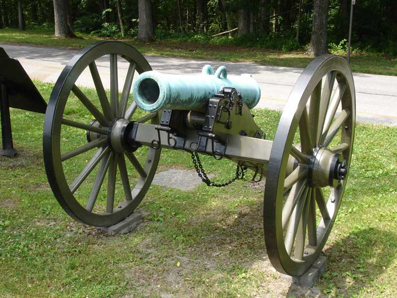 File:CW Arty Mountain Howitzer front jpg - Wikimedia Commons