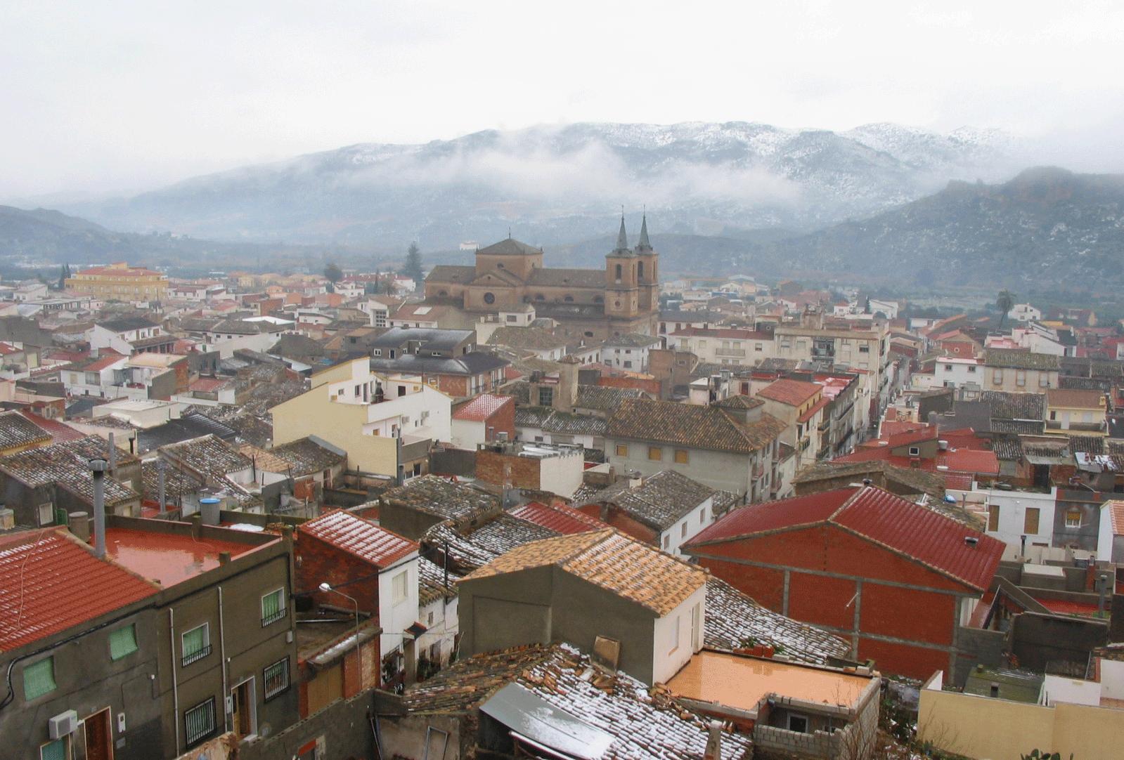 Vista de Cantoria