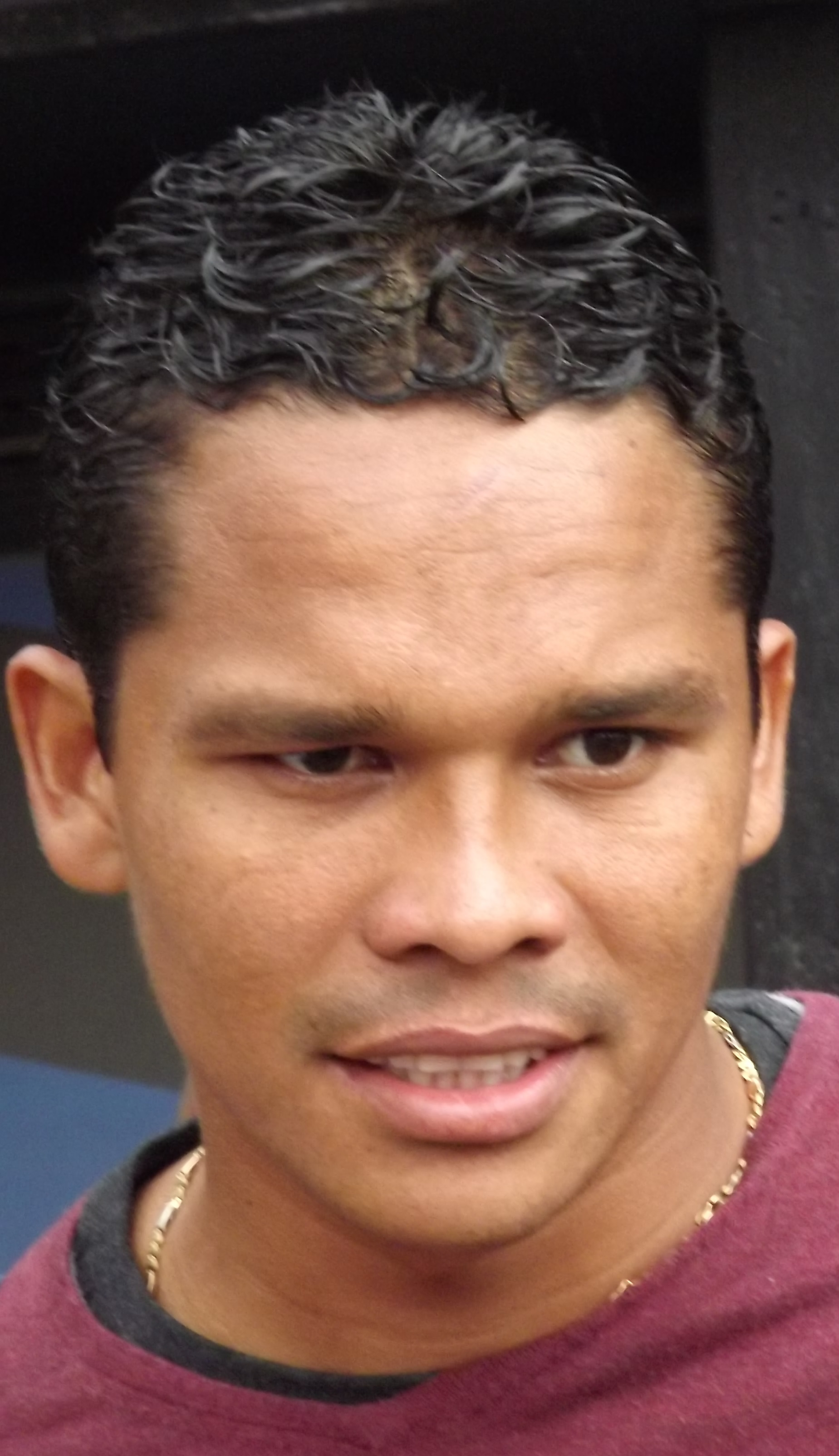 The 31-year old son of father (?) and mother(?) Carlos Bacca in 2018 photo. Carlos Bacca earned a 8.4 million dollar salary - leaving the net worth at 12.8 million in 2018