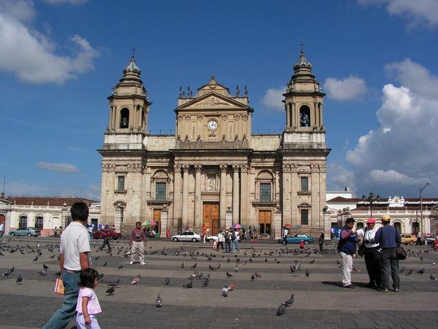 Katedral Metropolitana, Kota Guatemala.