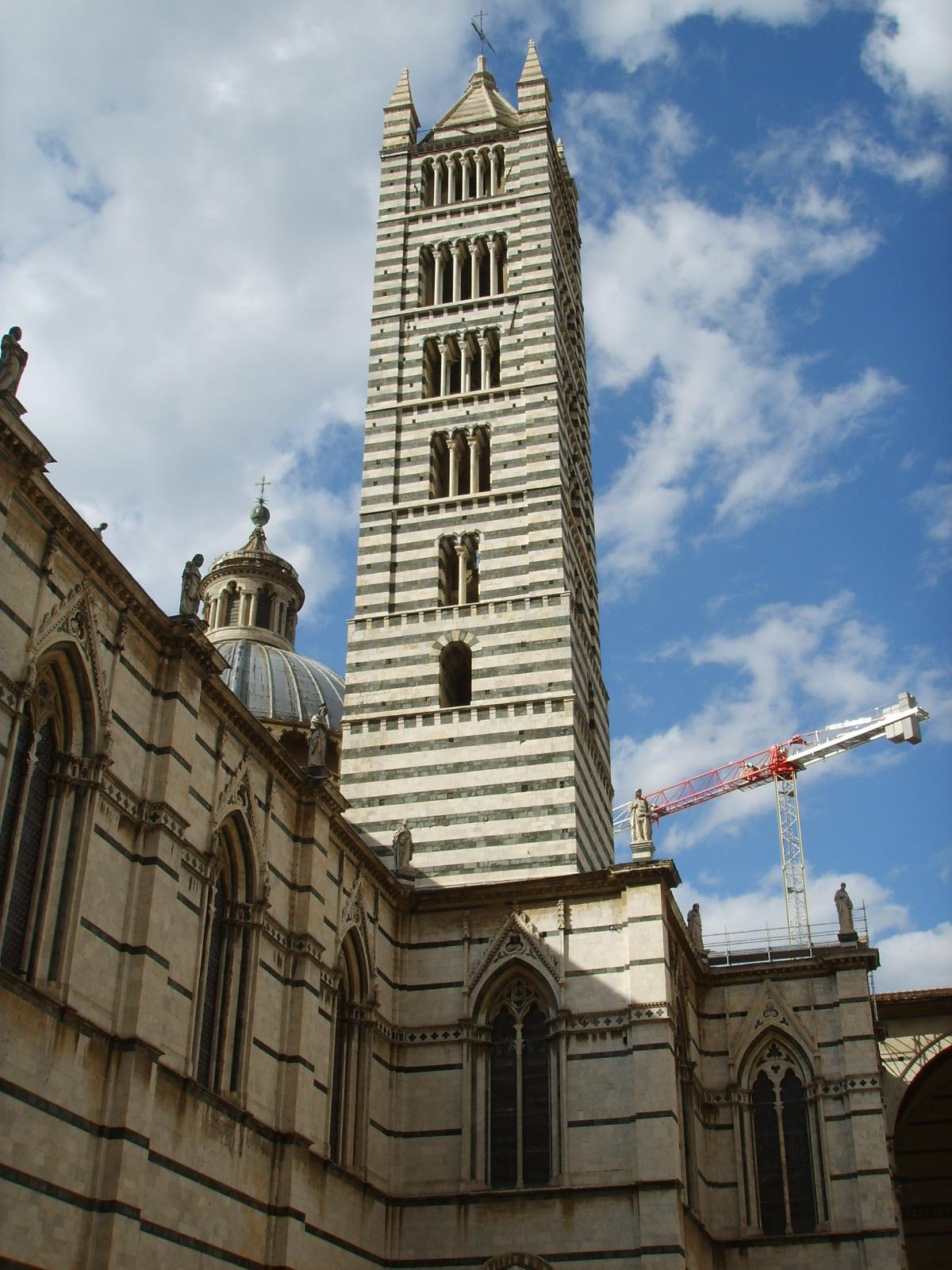 File:Cattedrale di Siena, campanile.JPG - Wikimedia Commons
