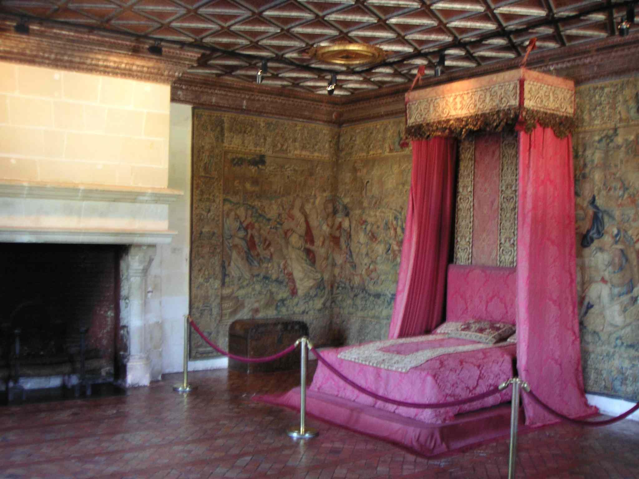 File ch teau de chenonceau chbre des cinq jpg wikimedia for Chateau chenonceau interieur