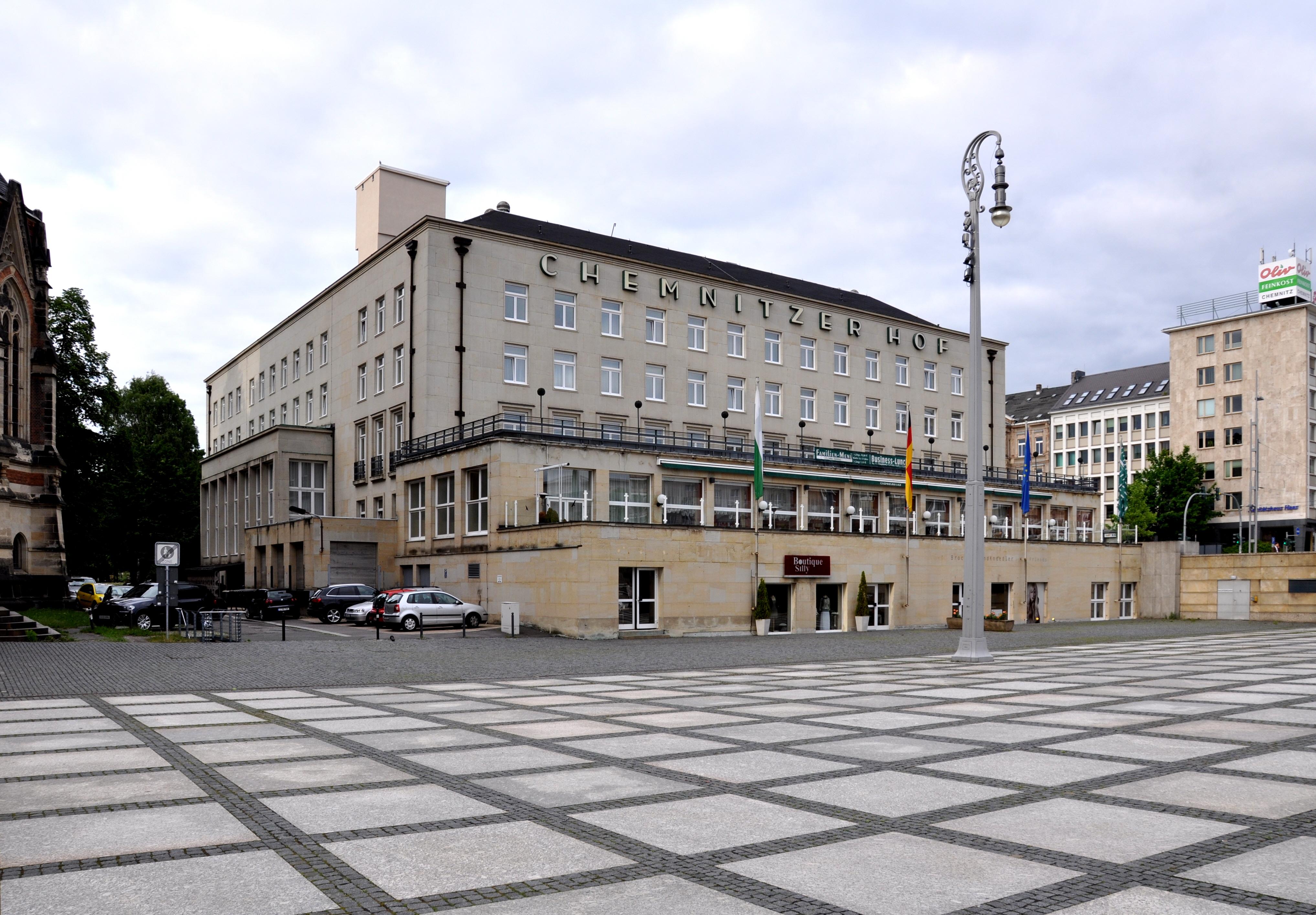 Chemnitz Hotel Chemnitzer Hof