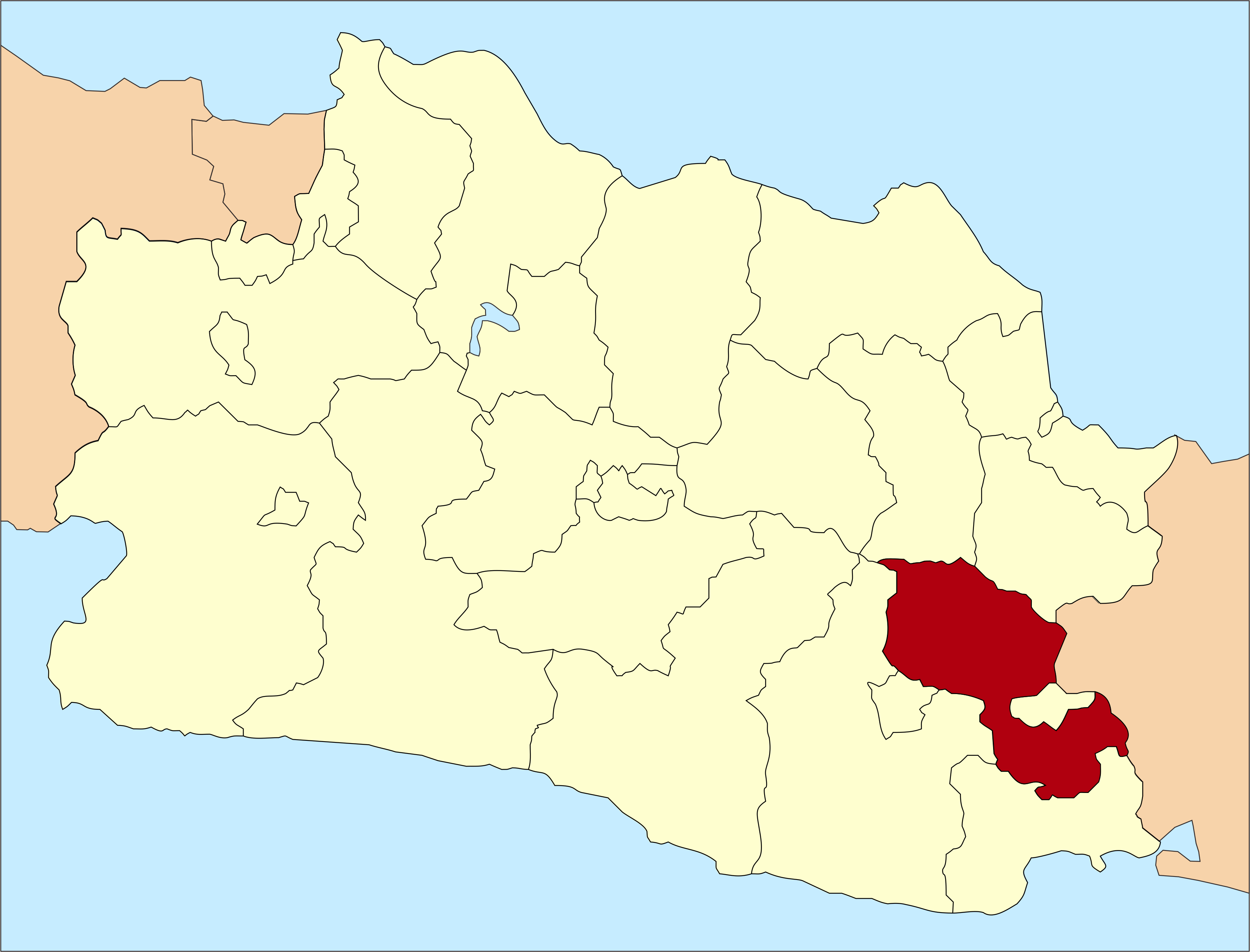 Ciamis in West-Java