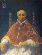 Portrait of papa Clemente VI