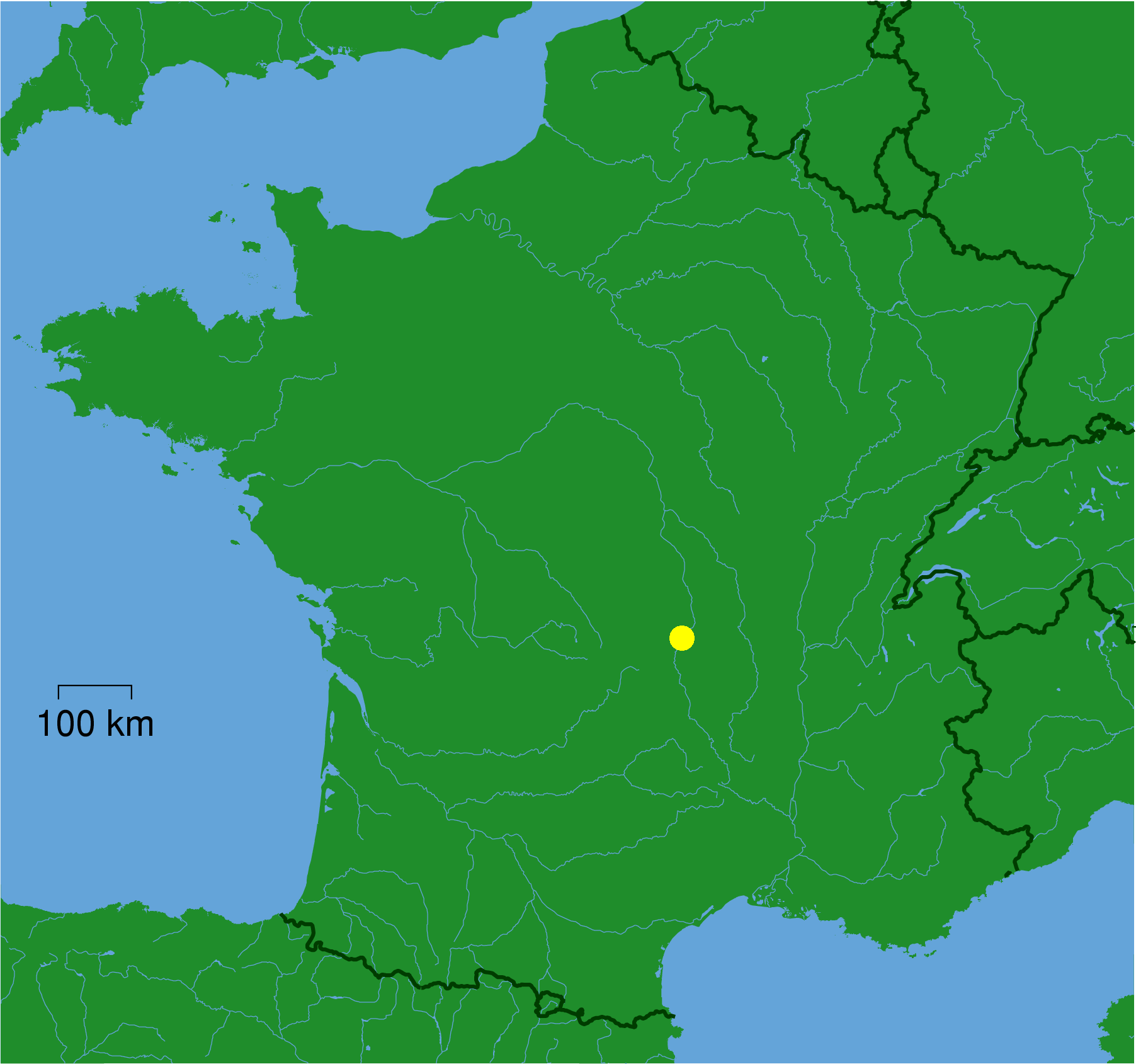 FileClermontferrand carte situationpng  Wikimedia Commons