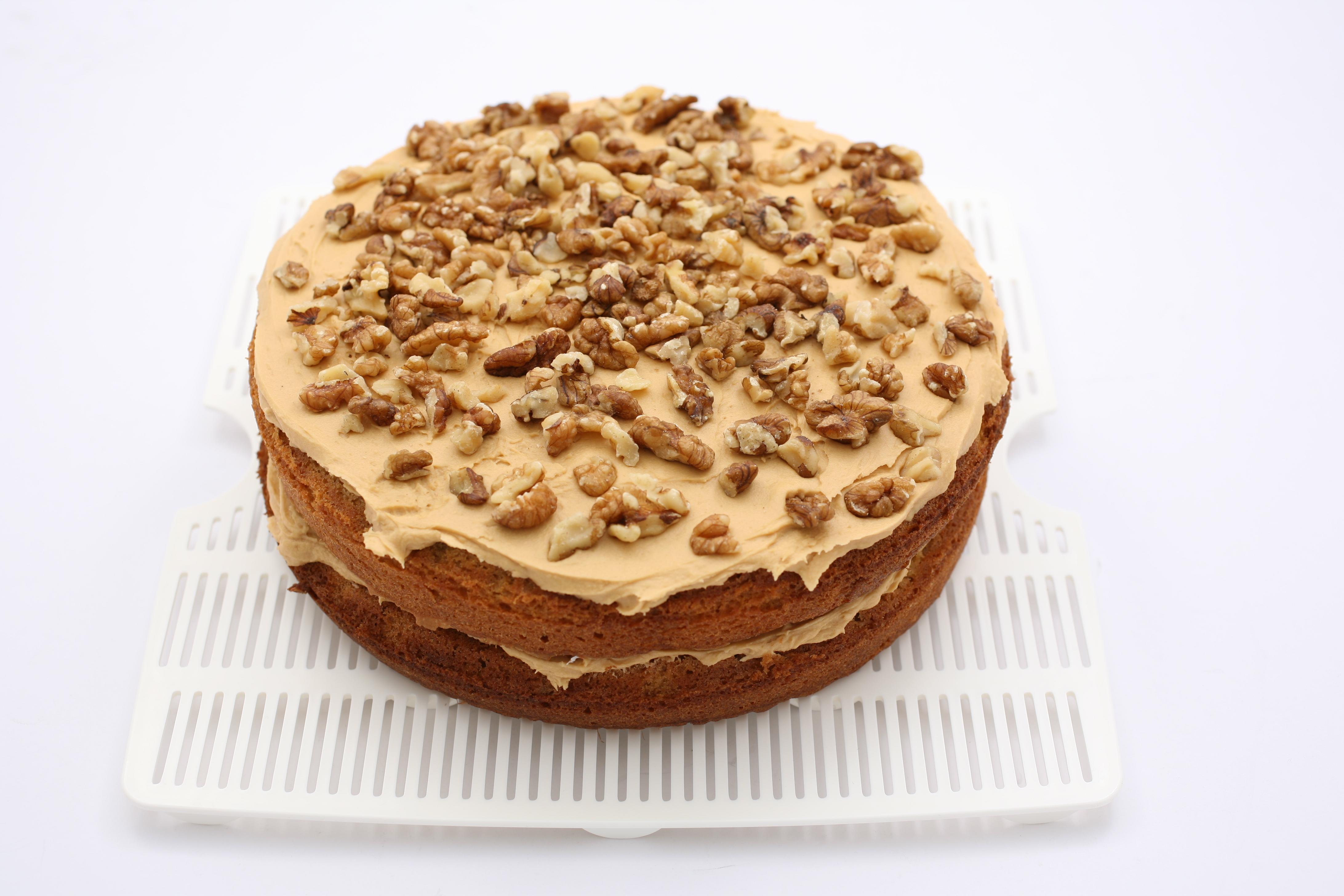Date Walnut Coffee Cake