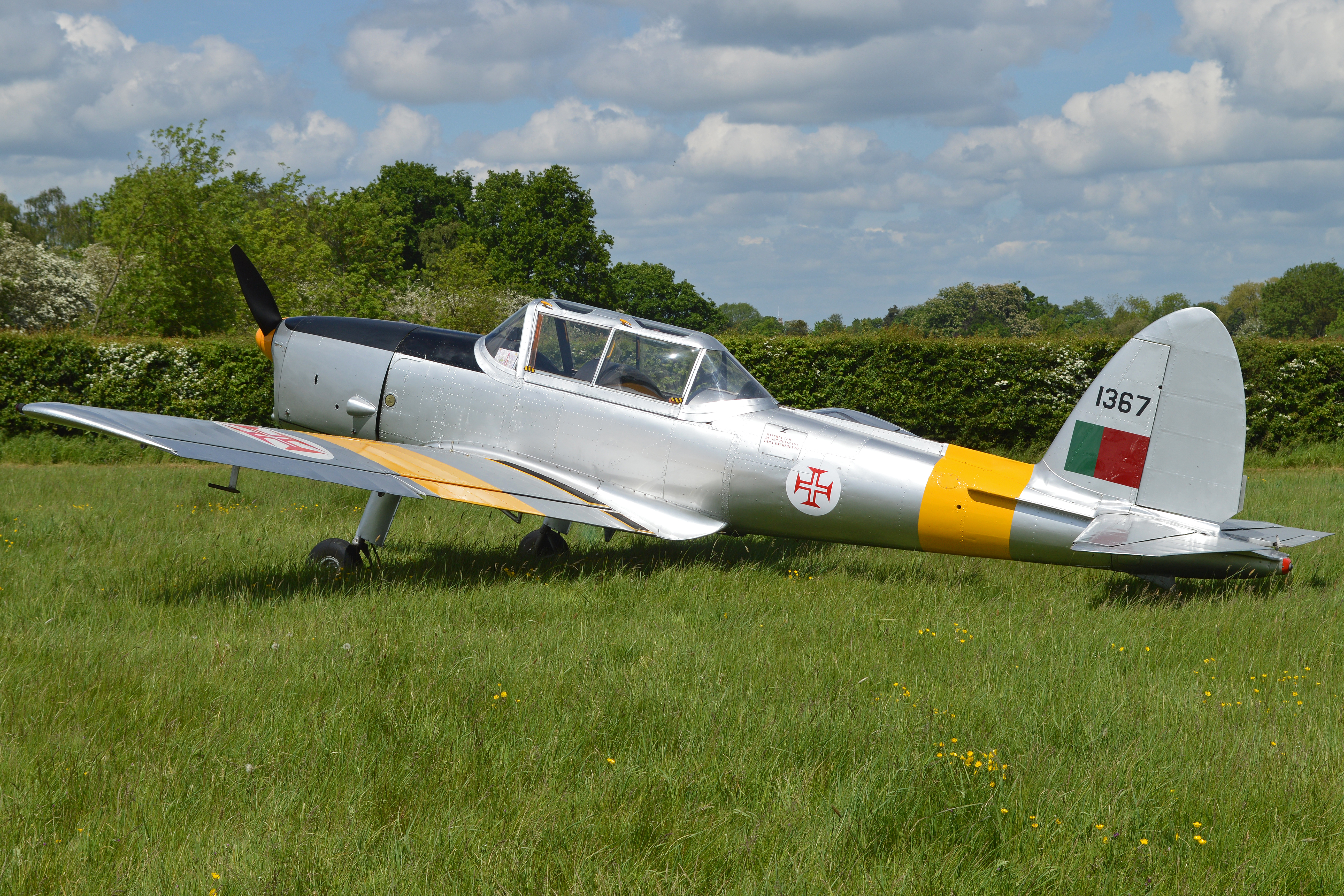File:DHC-1 Chipmunk 22 '1367' (G-UANO) (