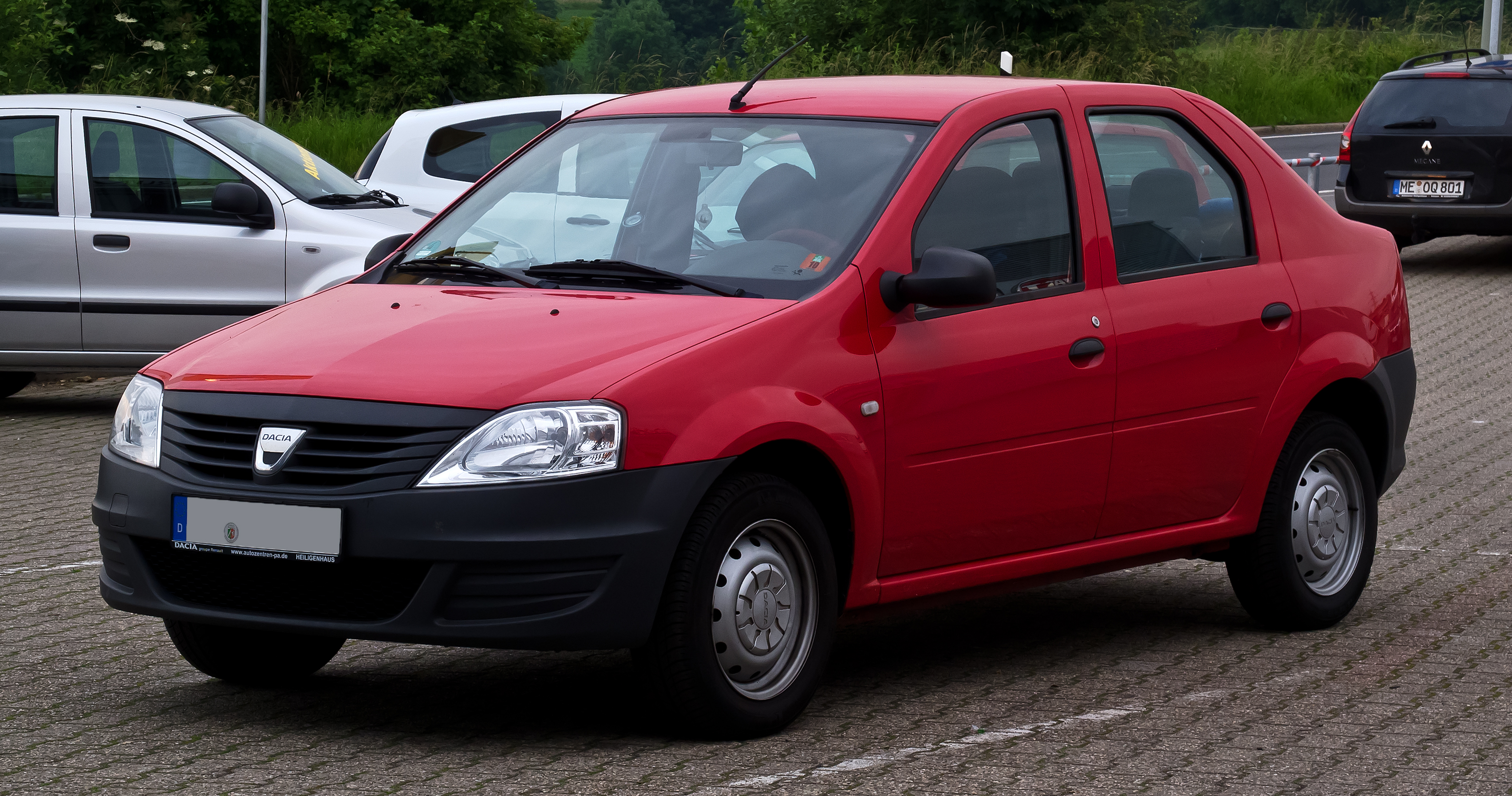 file dacia logan 1 4 mpi facelift frontansicht 19 juni 2012 wikimedia. Black Bedroom Furniture Sets. Home Design Ideas