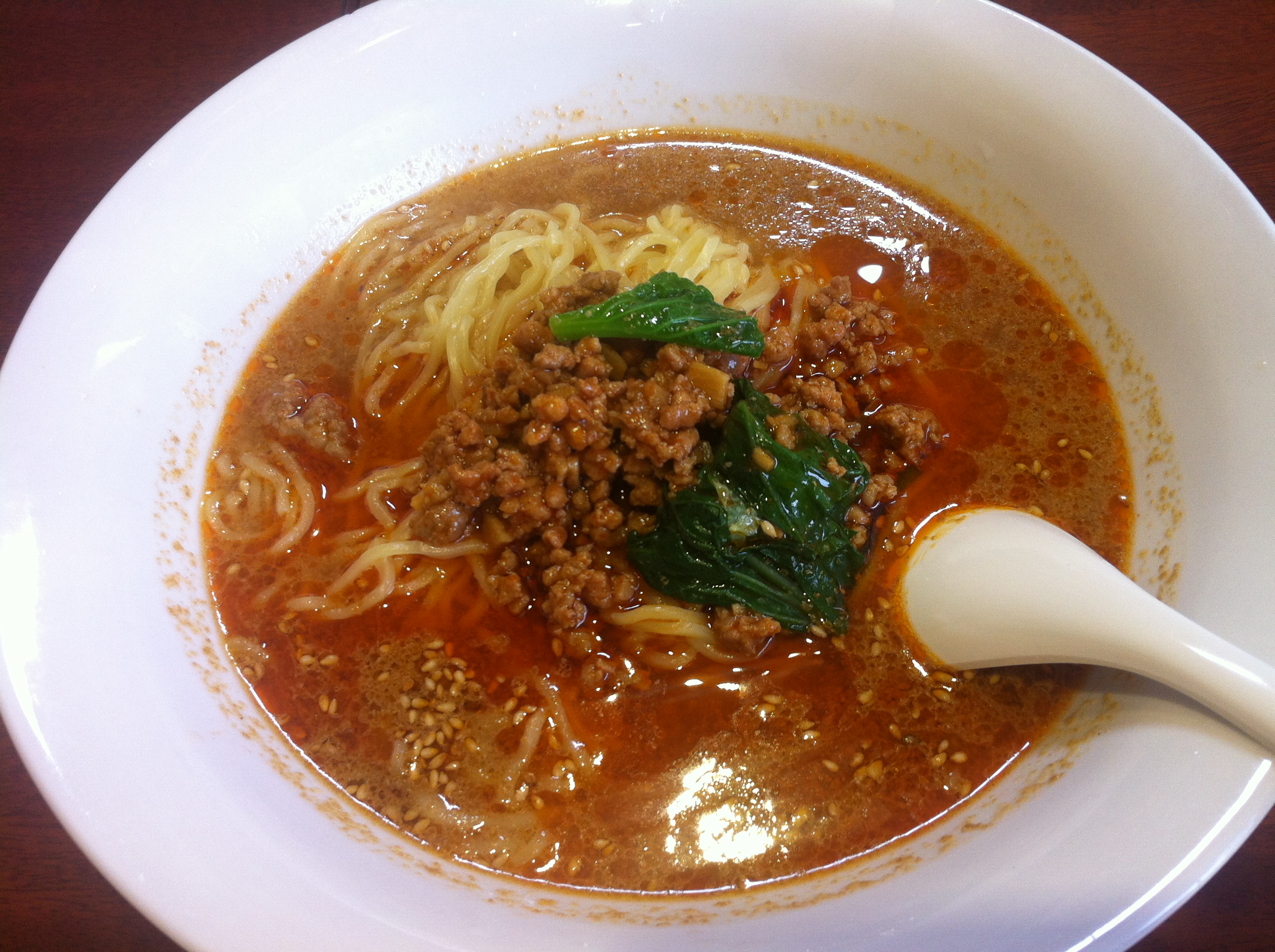 Description Dandan noodles in Japan - tantanmen - September 2014.jpg