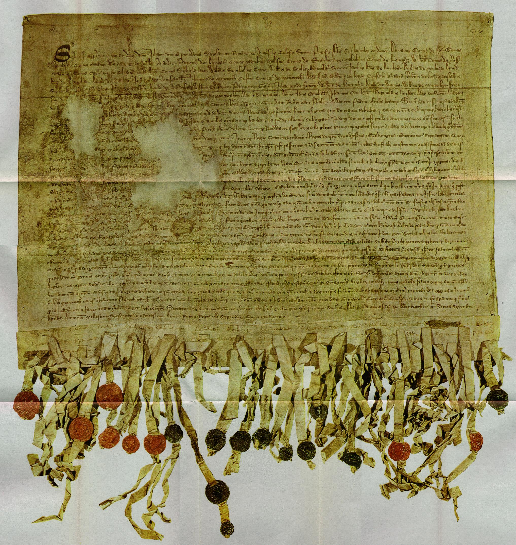Declaration of Arbroath - Wikipedia