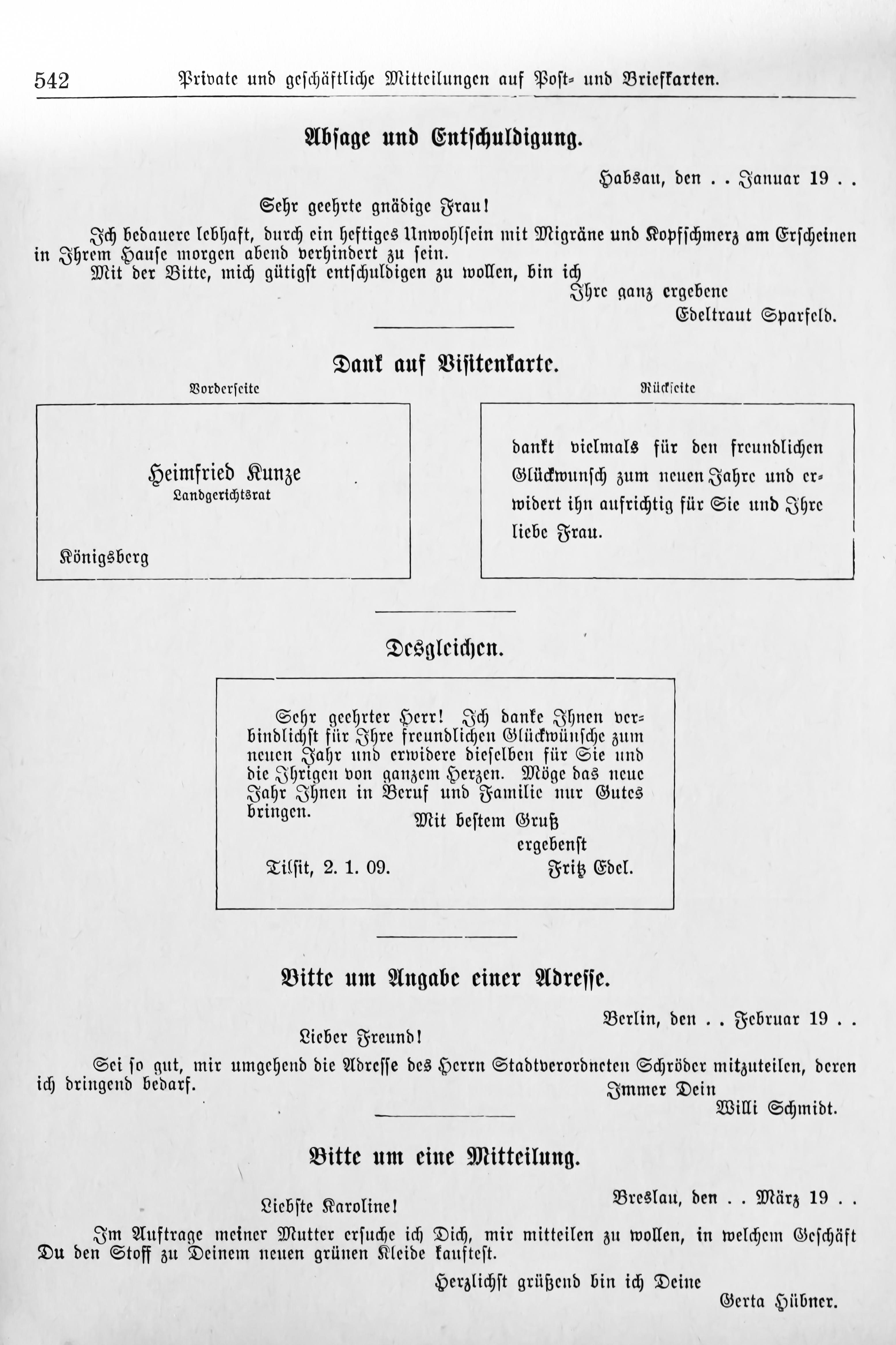 File:Der Haussekretär Hrsg Carl Otto Berlin ca 1900 Seite 542.jpg ...