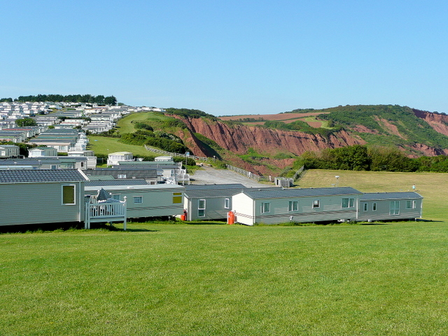 Devon Cliffs Holiday Park 3 - geograph.org.uk - 1339633