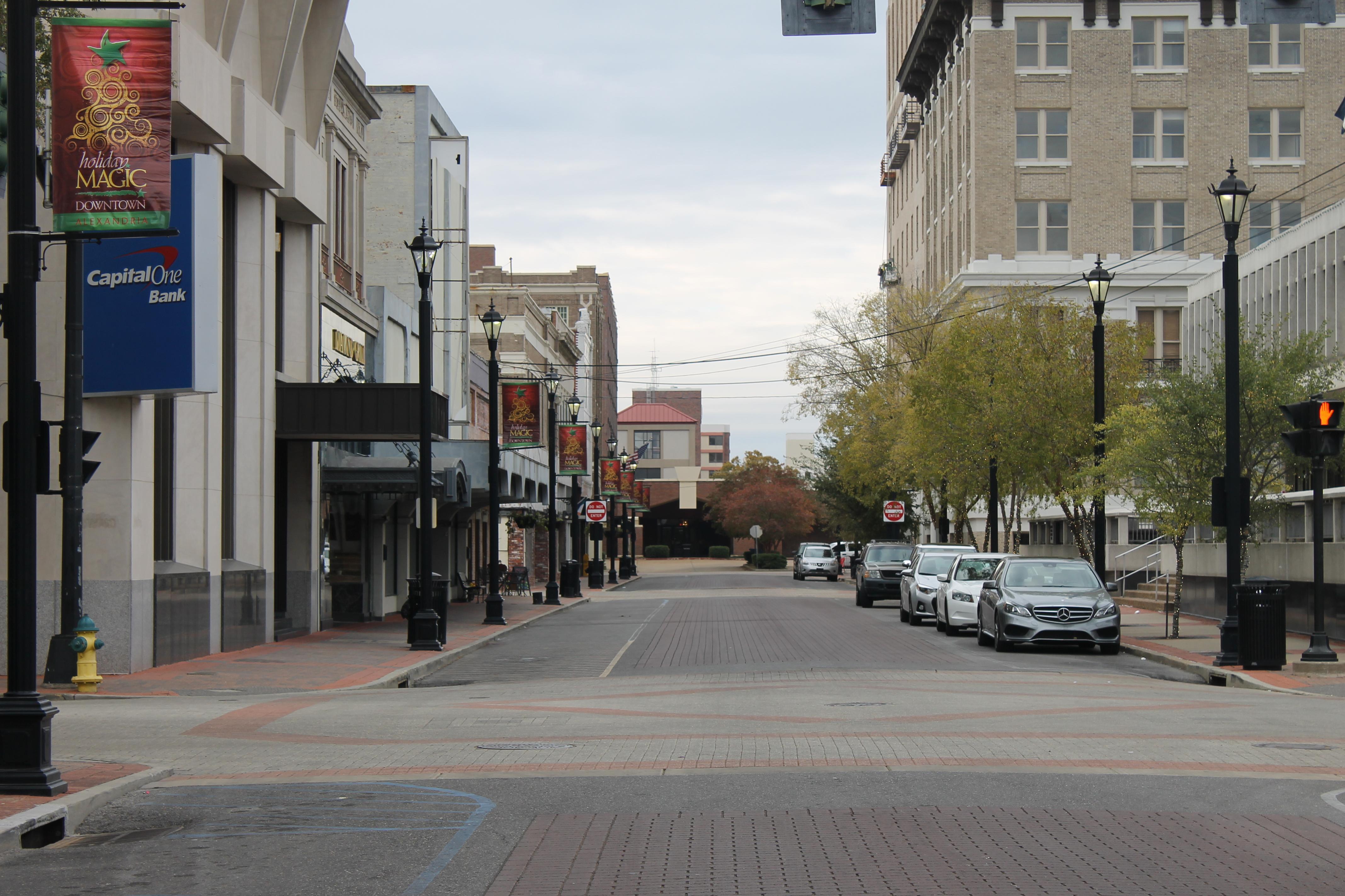 File:Downtown Third Street In Alexandria, LA IMG 4316.JPG