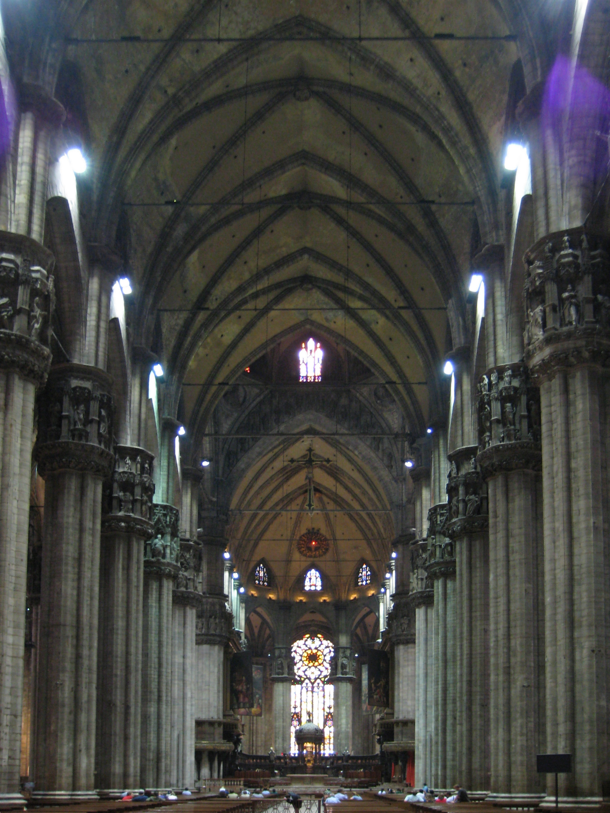 File Duomo Di Milano Interior 1 Jpg Wikimedia Commons