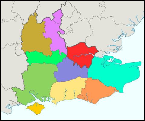 South East England – Reiseführer auf Wikivoyage