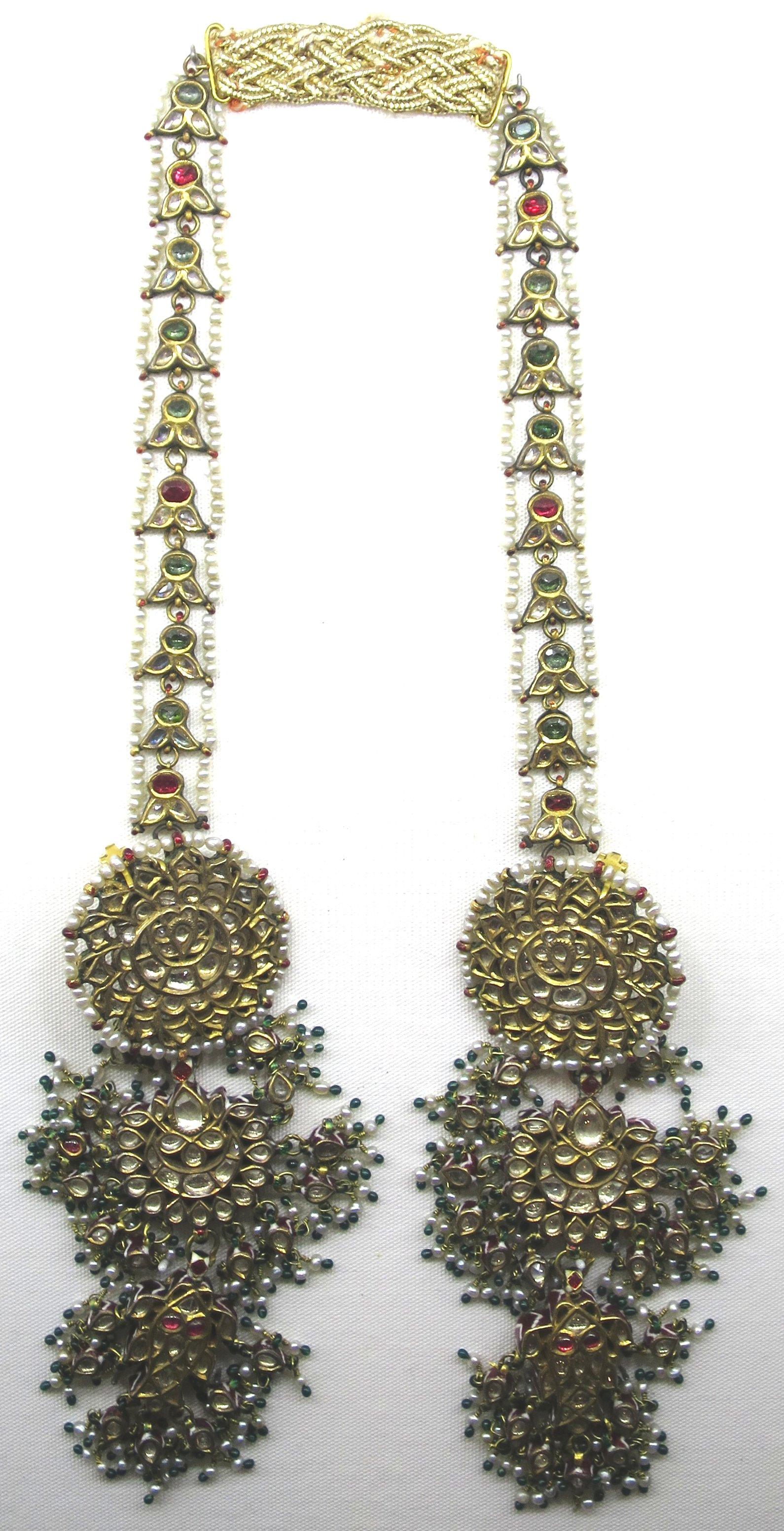 File:Ear ornaments from Delhi, Doris Duke Foundation for