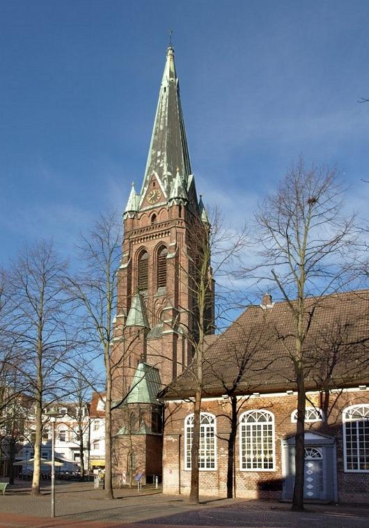 Elmshorn Germany  city pictures gallery : Elmshorn Kirche Turm Wikimedia Commons
