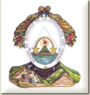 Un lempira, billete illuminati Escudo_del_Estado_de_Honduras