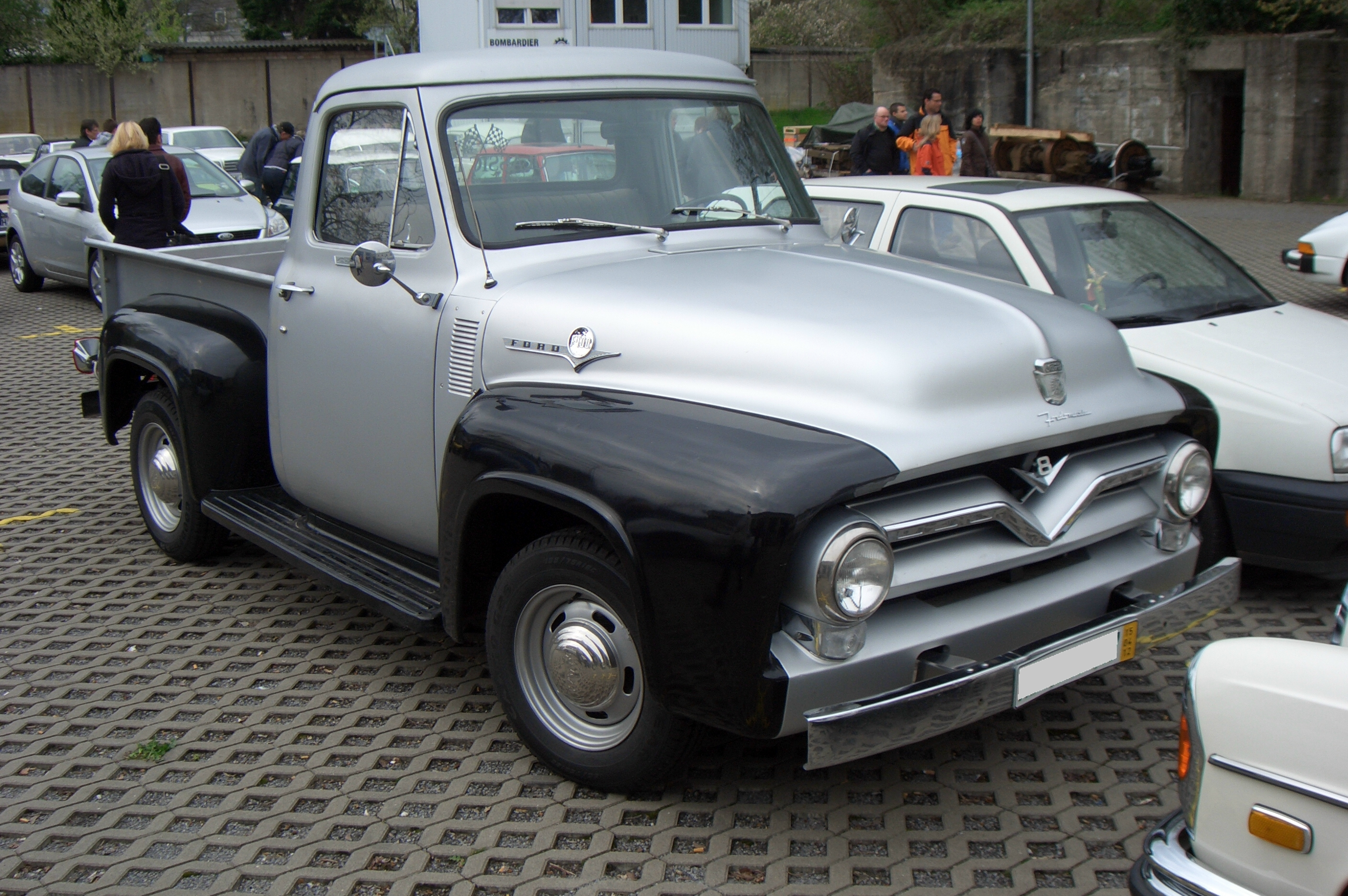 Anyone Have A 50s Ford F100 Corvetteforum Chevrolet Corvette 1955 Panel Truck Forum Discussion