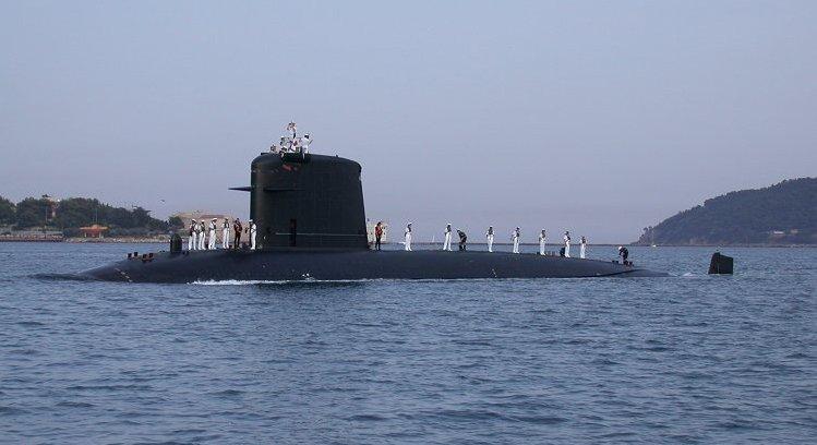French Submarine Saphir  S602