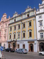 Façade de l'Alliance française à Plzeň en République tchèque