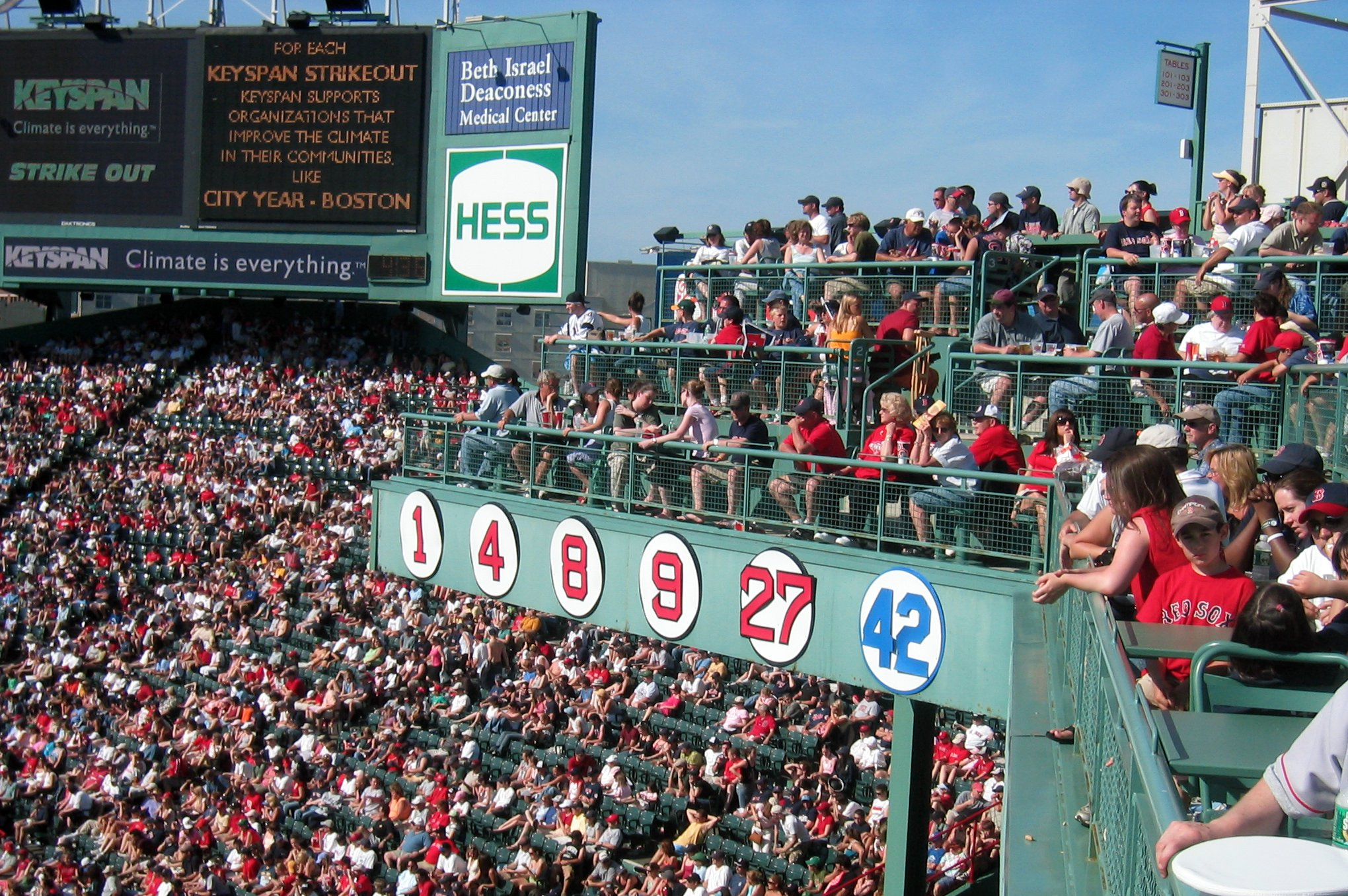Red Sox Standing Room Tickets