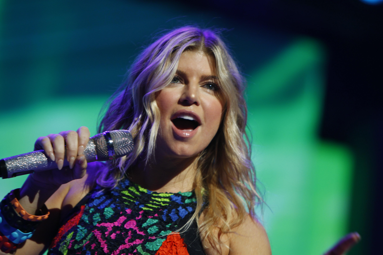File:Fergie at the 2011 Walmart Shareholders Meeting.jpg ... Fergie