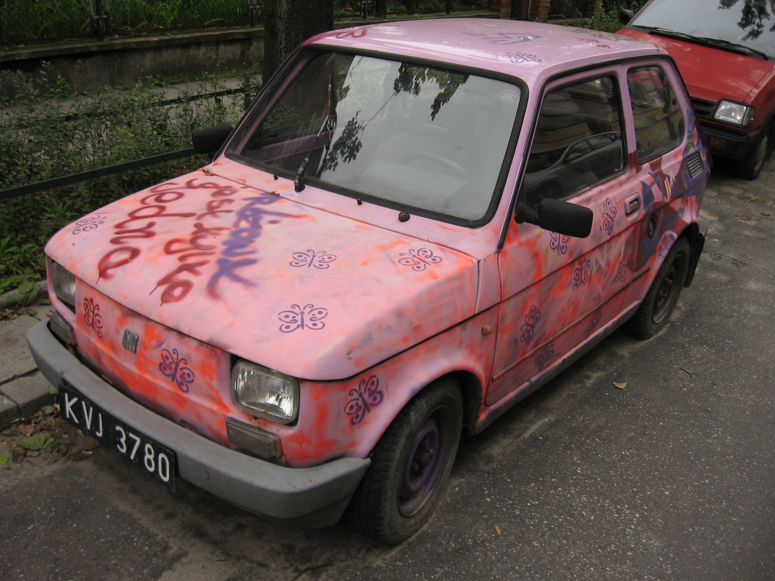 Custom Paint Shops Near Me >> File Fiat 126 Elx With A Custom Paintjob In Krakow 2 Jpg