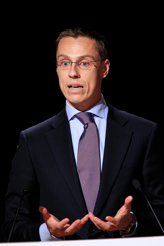 File:Finlands utrikesminister Alexander Stubb vid Nordiska ...