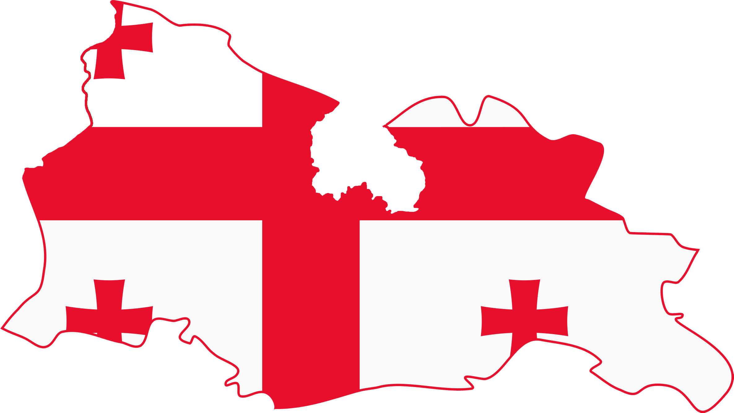 FileFlag Map Of Georgia Without Abkhazia And South Ossetiapng - Georgia map 2014
