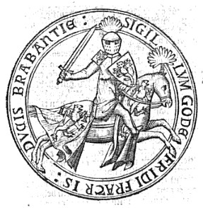 Godfrey of Brabant Lord of Aarschot (1284–1302) and Lord of Vierzon (1277–1302)