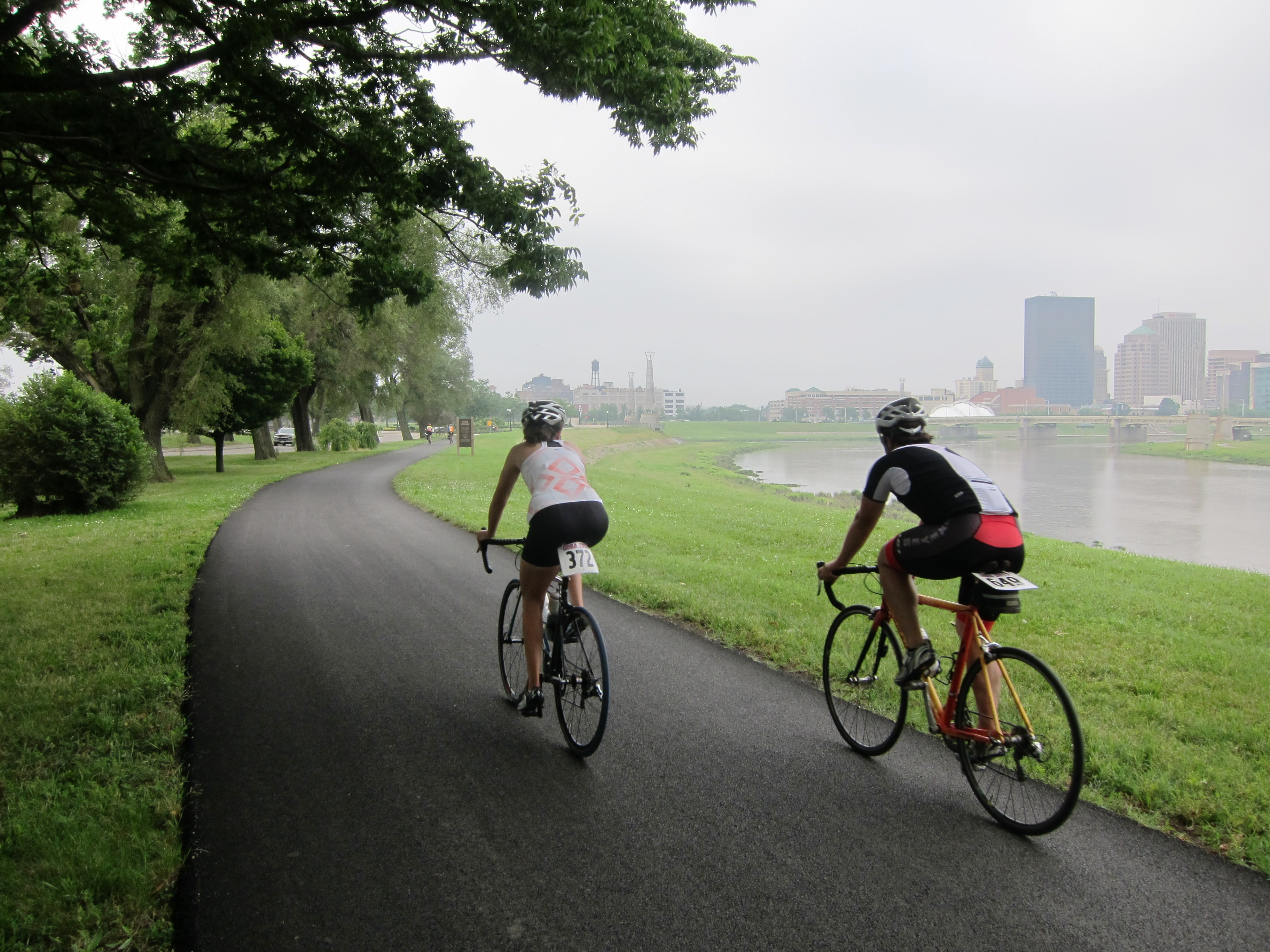 Miami river bike trail