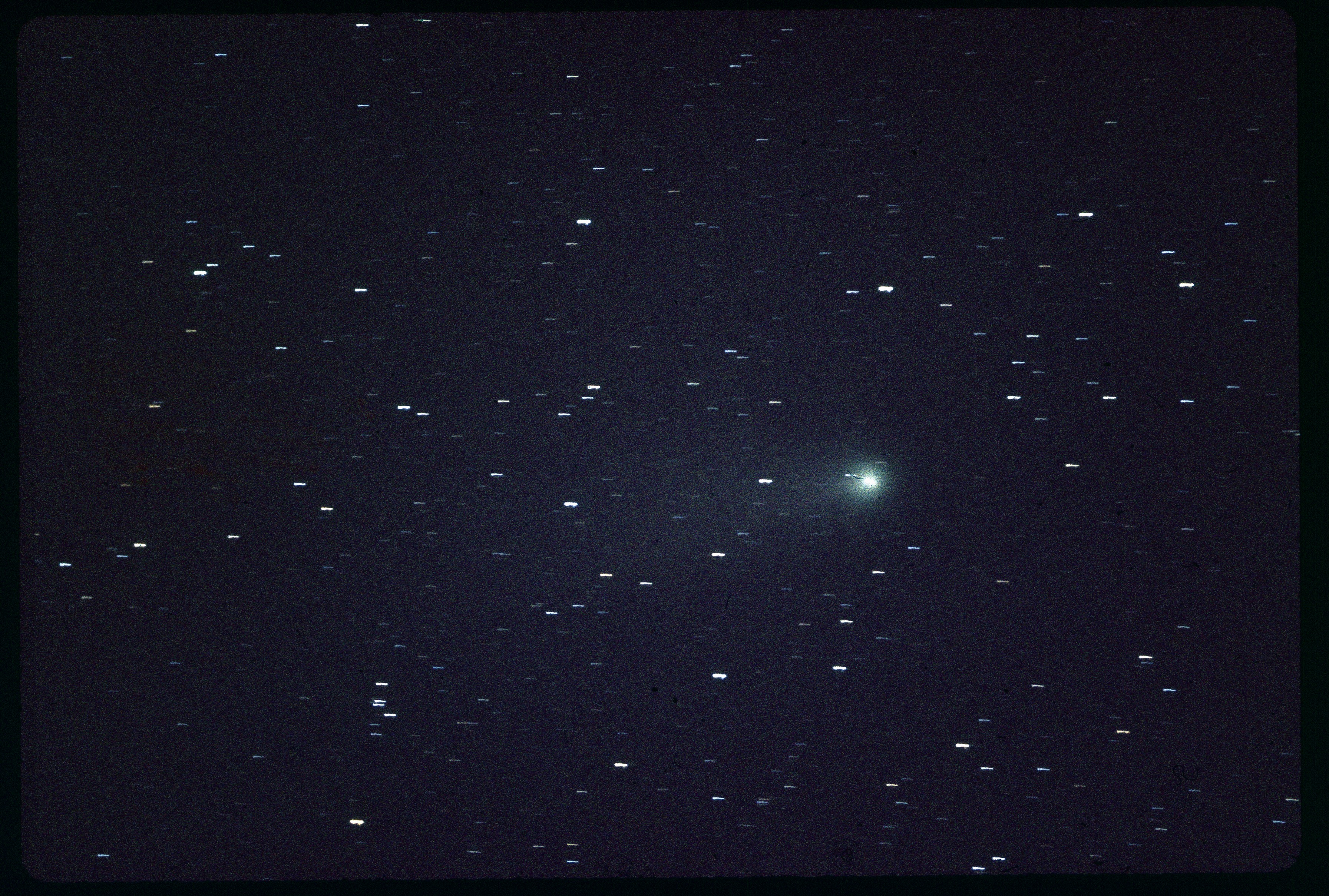 What is the size of Halley's comet?