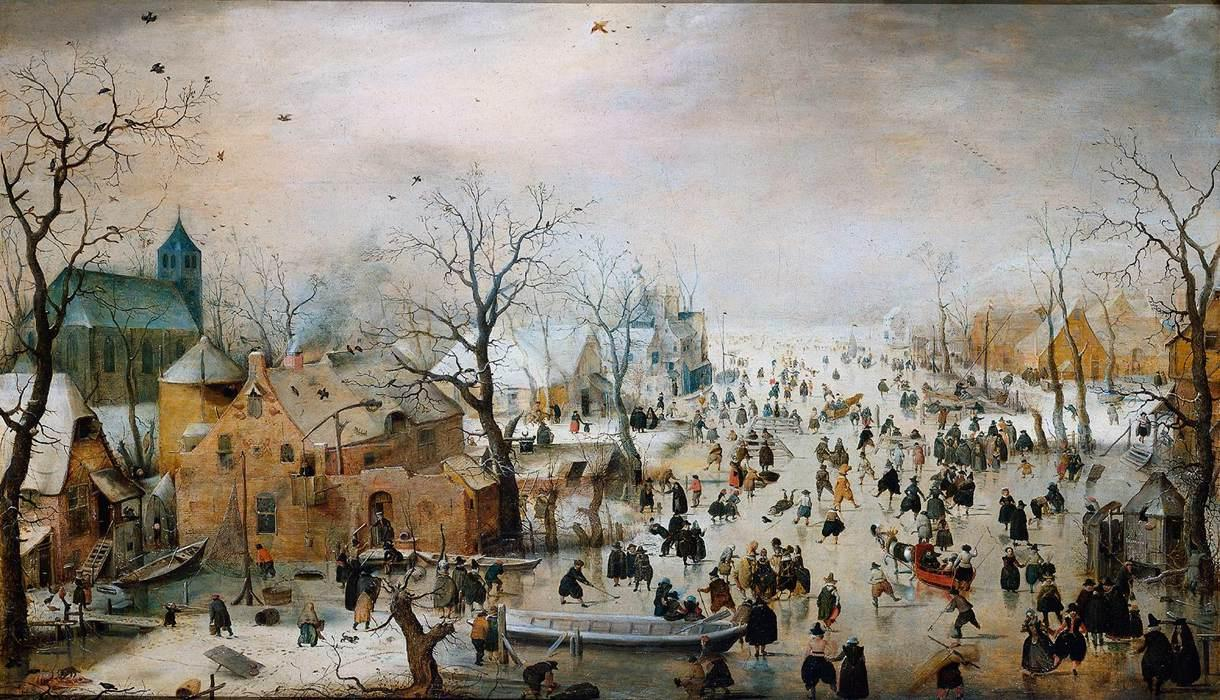 File Hendrick Avercamp Winter Landscape With Skaters