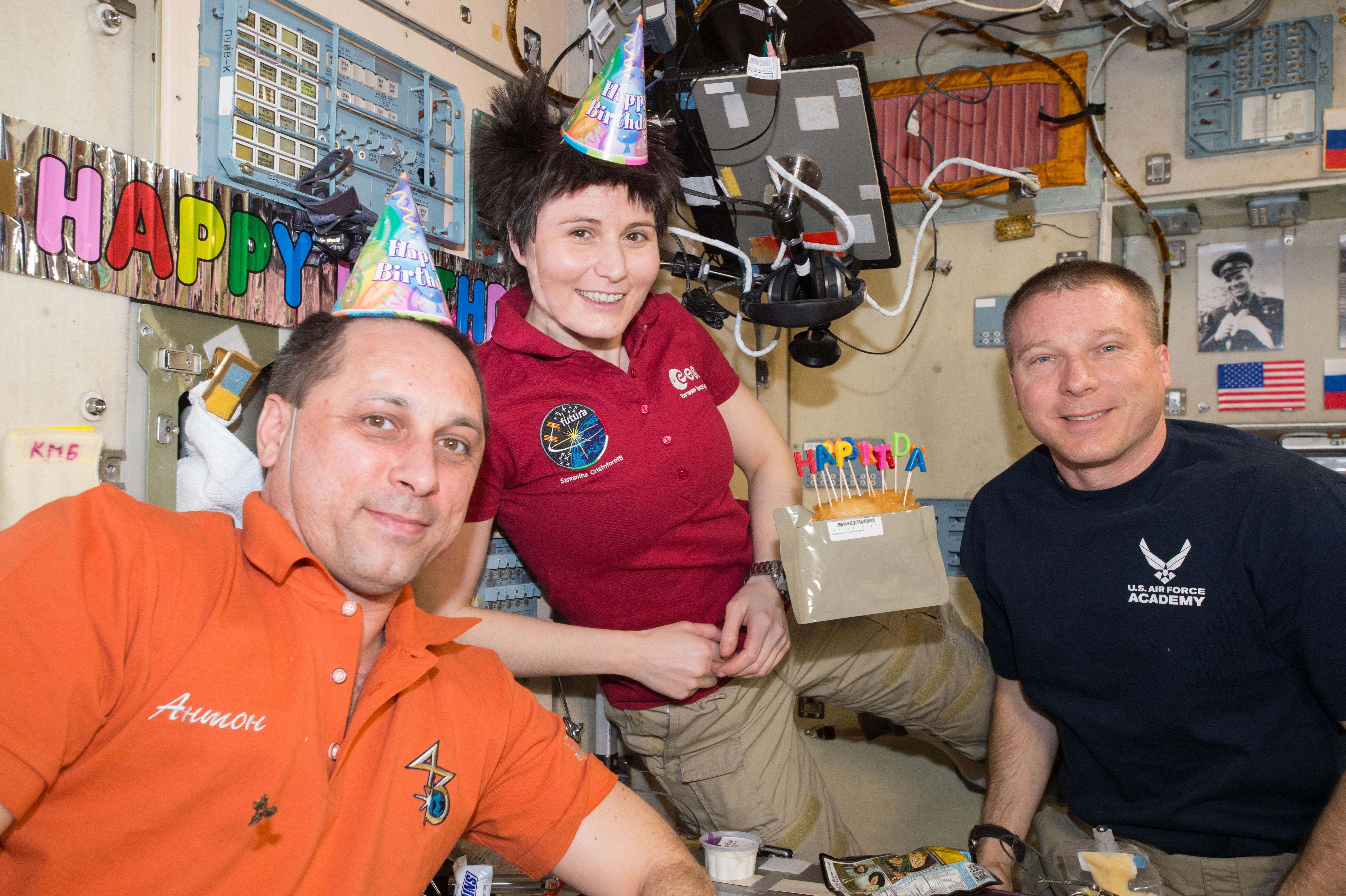 Fileiss 43 Birthday Of Astronaut Samantha Cristoforettijpg