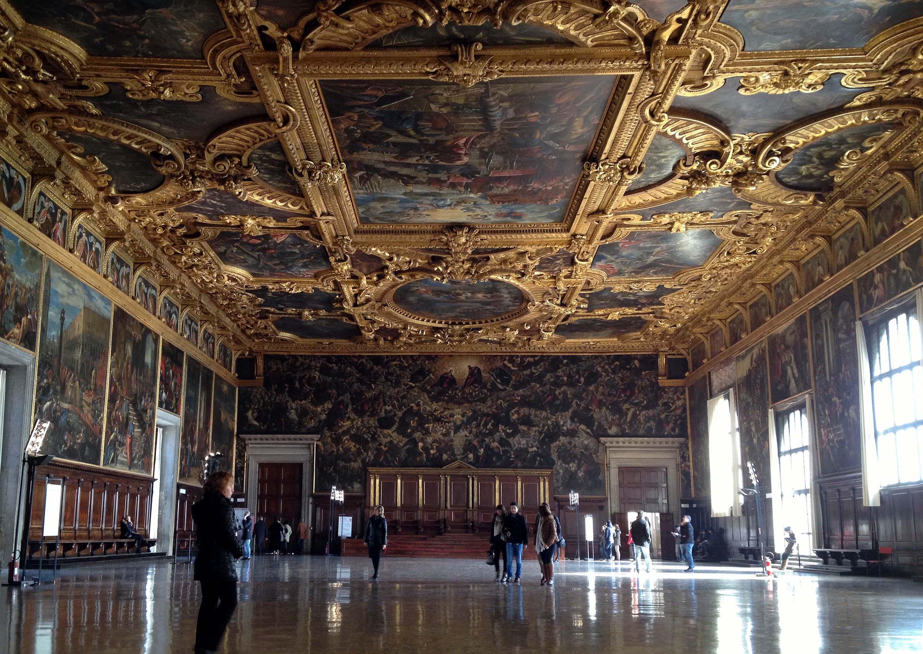 File interno della sala del maggior consiglio palazzo for Interno 5 b b roma