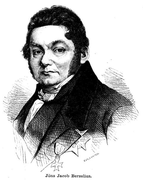 Jöns Jacob Berzelius.