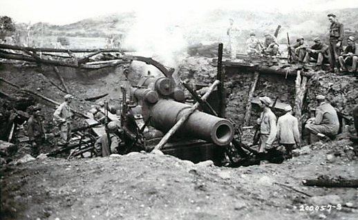 Military History - Page 2 Japanese_Cannon_captured_by_158th_IN