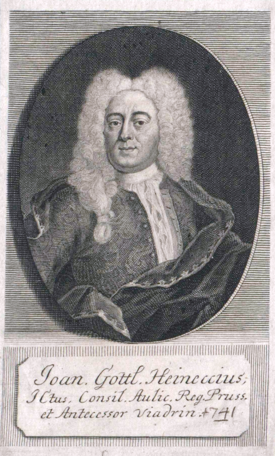 Johann Gottlieb Heineccius.