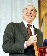 John Updike John Updike with Bushes new.jpg