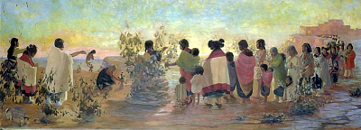 Kate T. Cory, Sun Ceremony, circa 1920, Smithsonian American Art Museum
