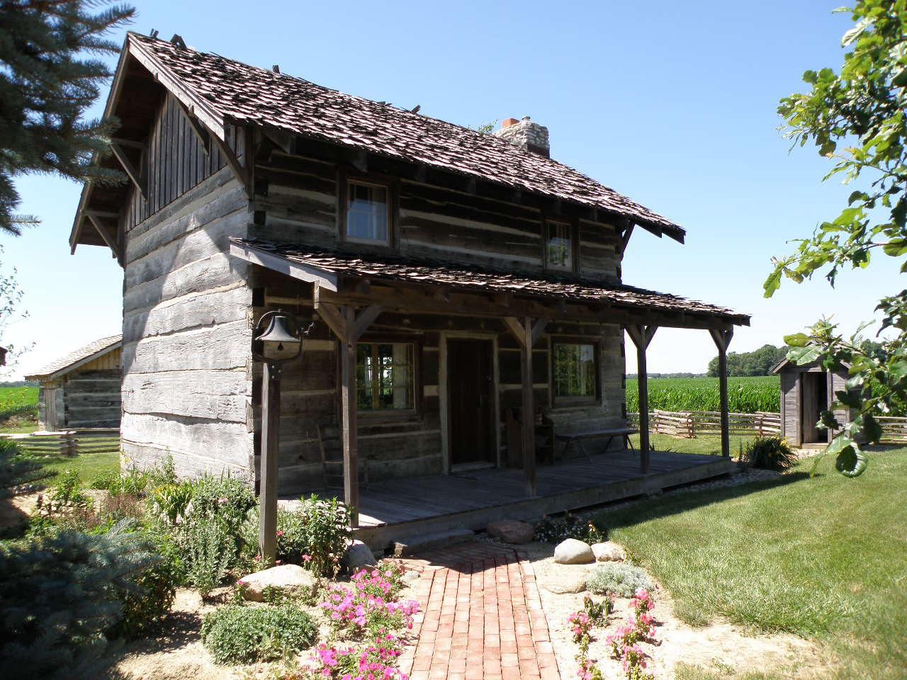 Free Log Cabin Plans File Kelley Historical Agricultural Museum Log Cabin Jpg