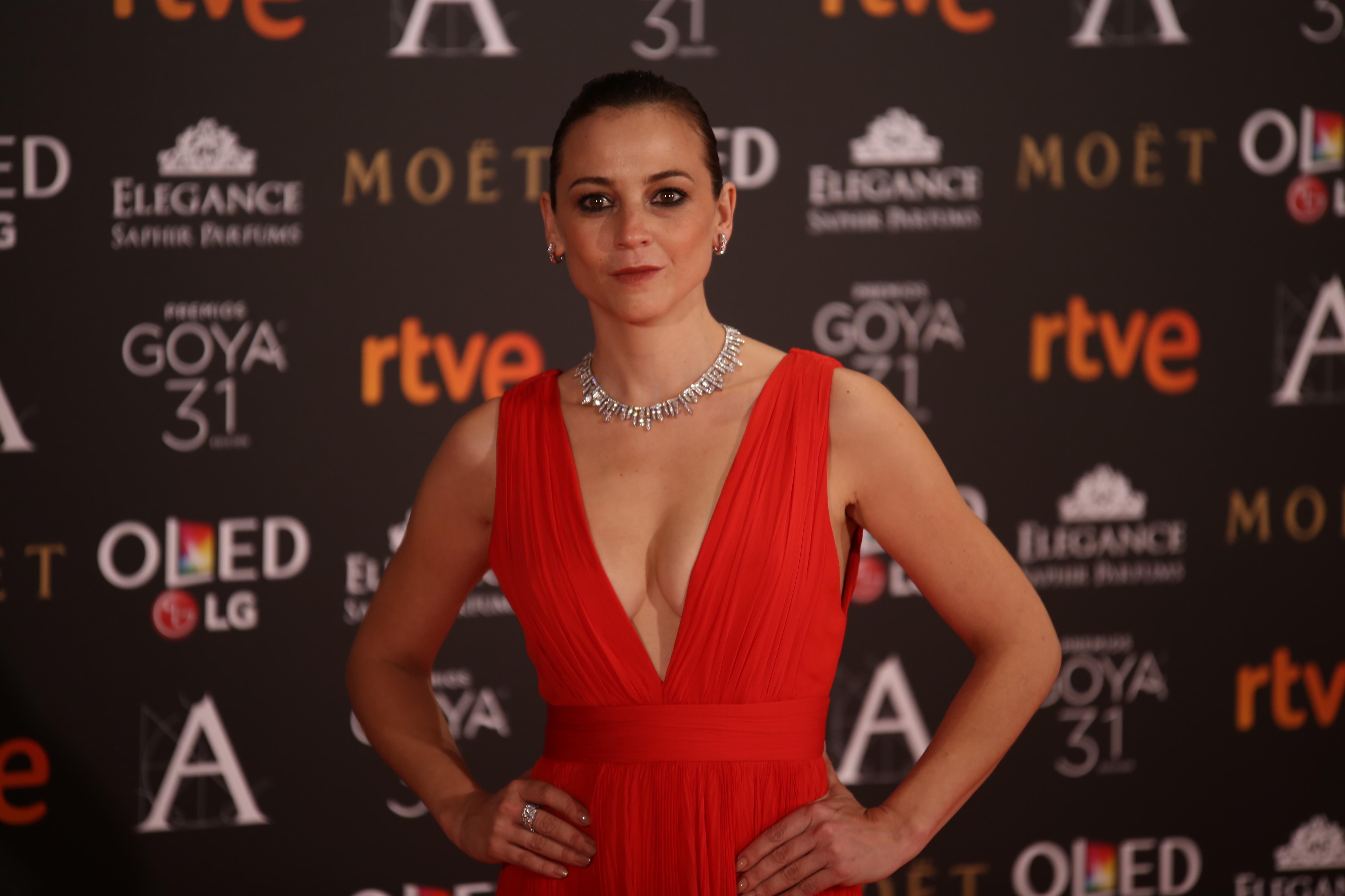 Leonor Watling en los Premios Goya 2017