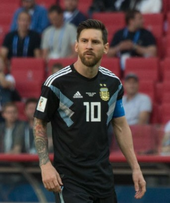 Lionel Messi has been nominated a record 7 times, more than any other in the award's history. Lionel Messi 2018.jpg