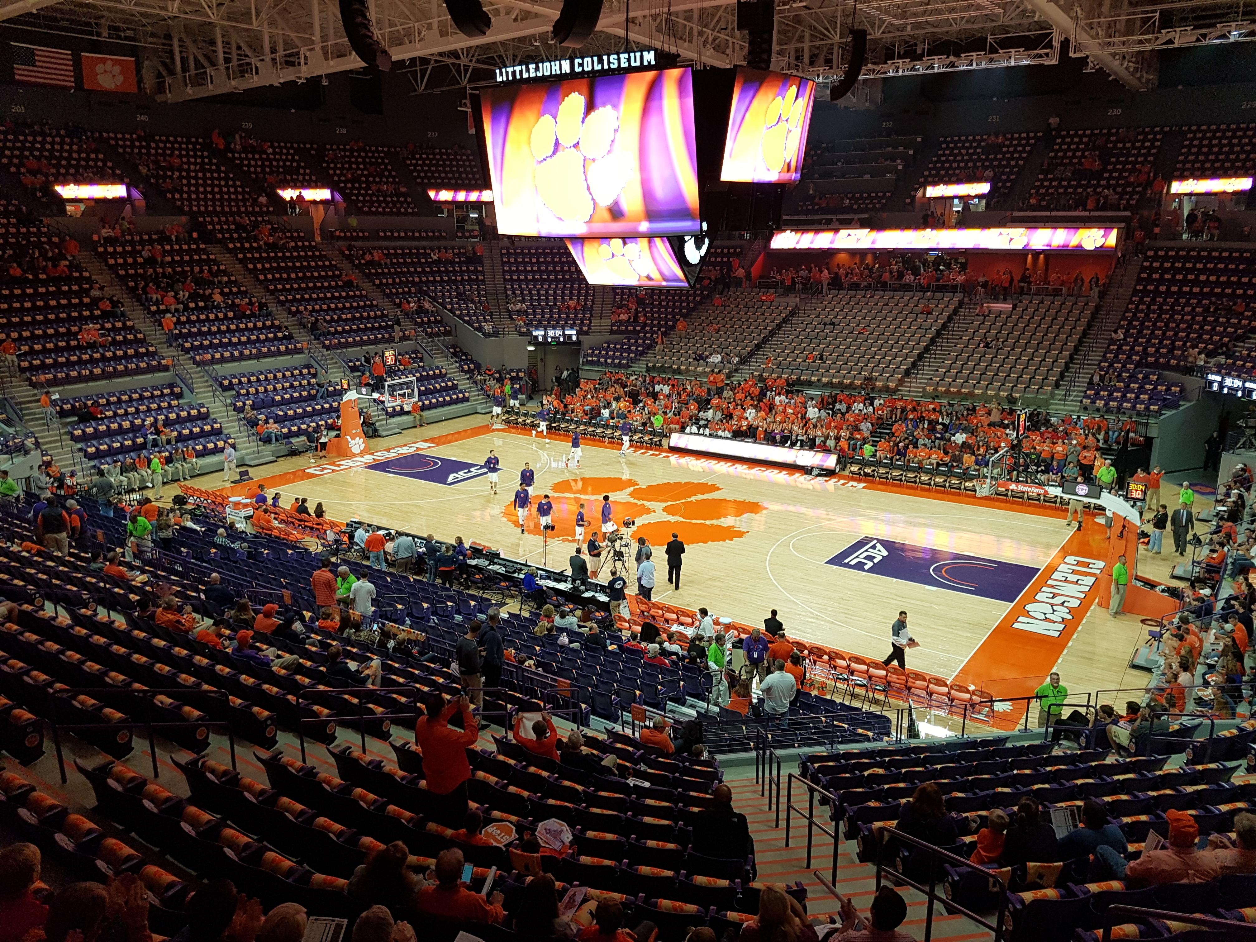 Littlejohn Coliseum Wikipedia
