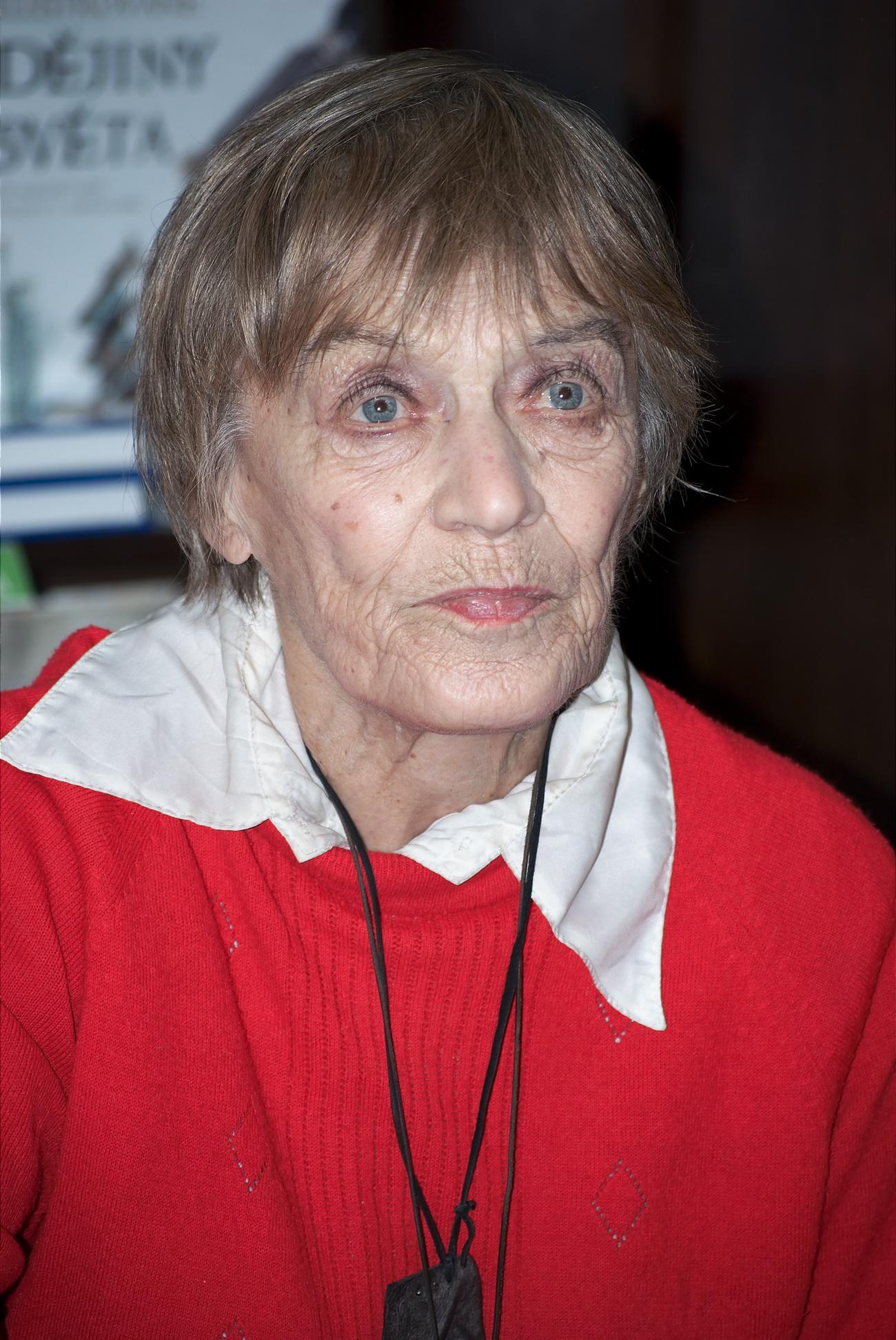Luba Skořepová in 2010