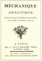 Mécanique analytique cover