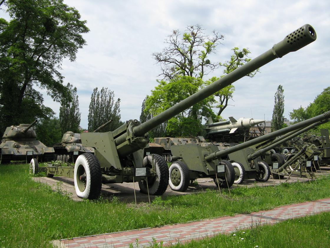 130 mm towed field gun m1954 m 46 wikipedia. Black Bedroom Furniture Sets. Home Design Ideas