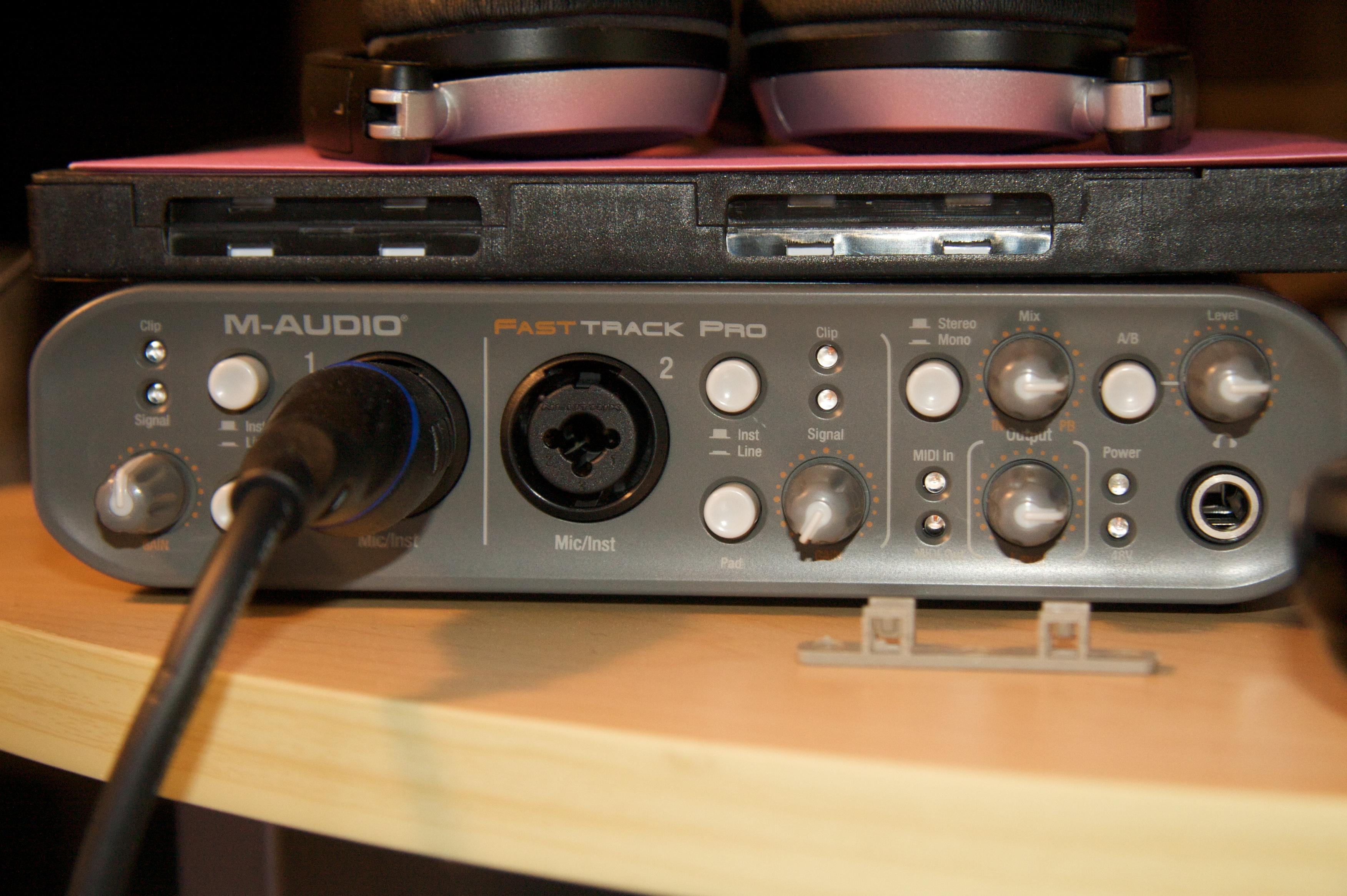 M audio fast track pro инструкция